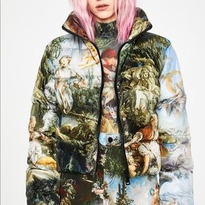 ISO! DOLLS KILL DA VINCI PUFFER JACKET!!